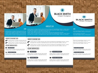 TRENDING, CORPORATE FLYER DESIGN . flyer typography print branding clean creative ui design colorful corporate