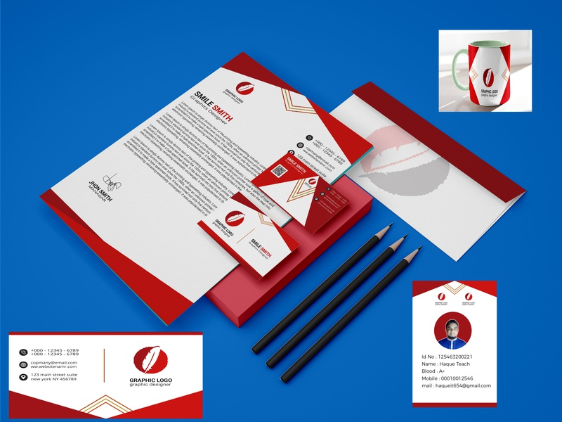 MODERN STATIONERY DESIGN . branding creative luxury clean print colorful design corporate simple stationer