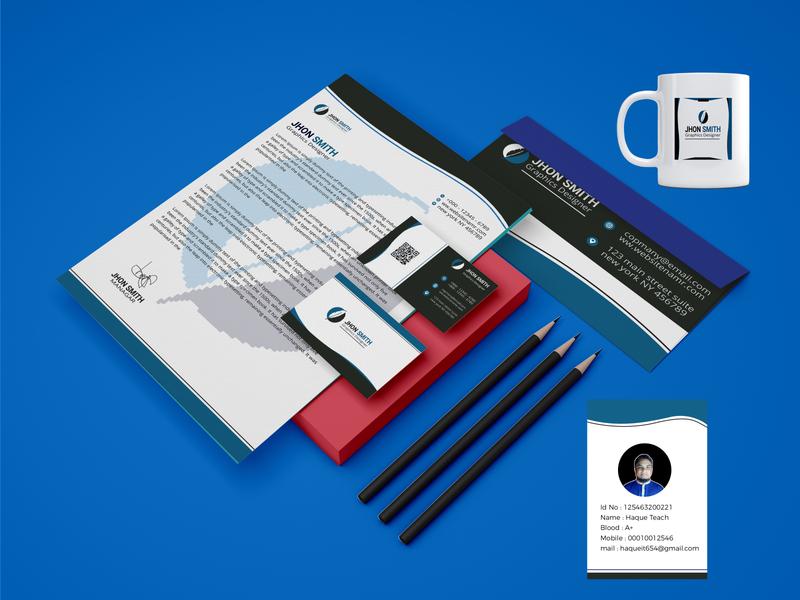 MODERN STATIONERY DESIGN . stationery modern design colorful print luxury branding creative clean corporate