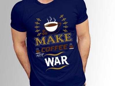 7CUSTOM COFFEE T SHIRT DESIGN. creative branding design clean tea t shirt coffee t shirt custom t shirt design