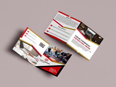 UNIQUE CORPORATE BI-FOLD BROCHURE DESIGN. brand corporat brochure design corporat brochure design brochure layout brochure design brochure bi fold brochure corporate design branding creative colorful