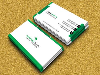 MODERN BUSINESS CARD DESIGN. illustration print branding identity card eps file elegant design dark grey creative corporate company colorful clean business card business