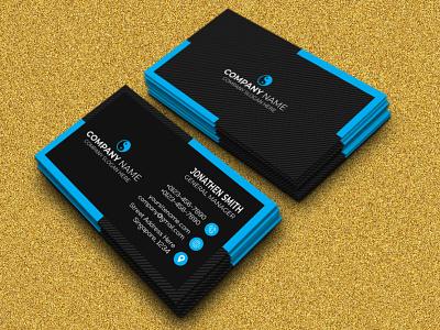 CORPORATE BUSINESS CARD DESIGN. ui illustration print clean corporate colorful creative design branding graphic design