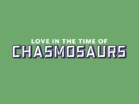 Love in the Time of Chasmosaurs logotype