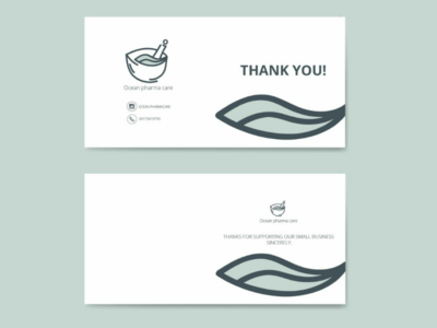Thank you cards cards