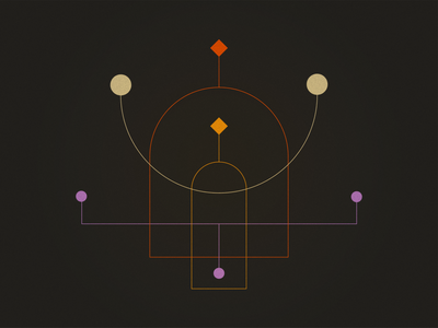 Balance texture geometic graphic design flat design
