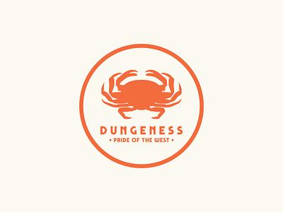Dungeness - Pride of the West sticker design badge design illustration graphic design flat design