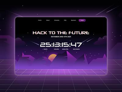 Daily UI 014: Countdown Timer countdown timer 014 ui ux design dailyui hackathon