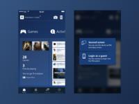 Playstation® App Redesign: update #2