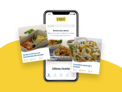 Chef, cosa cucino oggi? Mobile app #1
