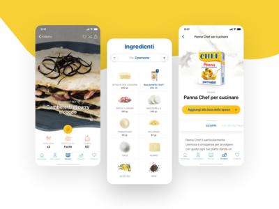 Chef, cosa cucino oggi? Mobile app #2