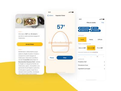 Chef, cosa cucino oggi? Mobile app #3