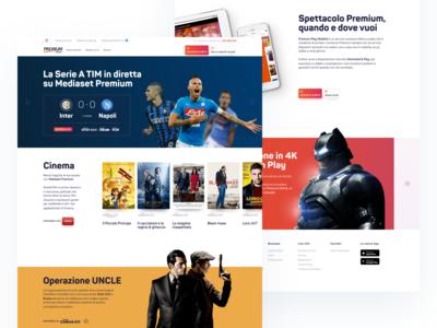 Mediaset Premium website #1