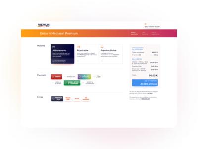 Mediaset Premium website #2