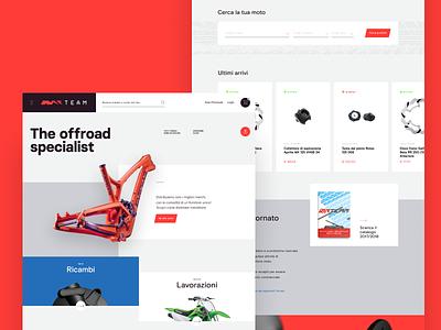 NR Team Redesign #1 motors flat landing offroad e-commerce