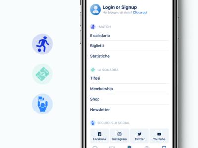 Azzurri Mobile App #3