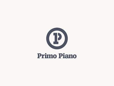 Primo Piano monogram combined serif monogram