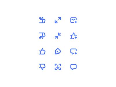 Icons exploration