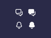 Default / Active icons