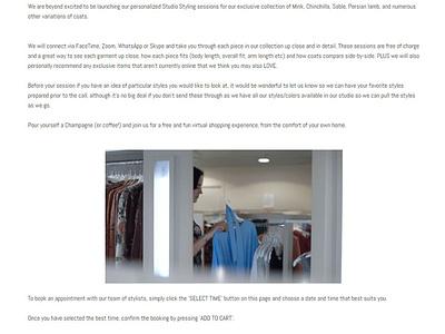 Virtual studio styling session branding virtual assistant