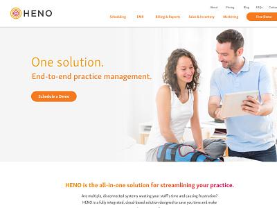 Heno wordpress physical therapy