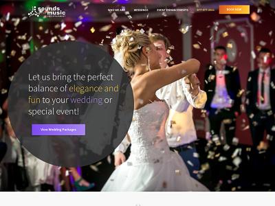 somenj web design music dj wordpress wedding