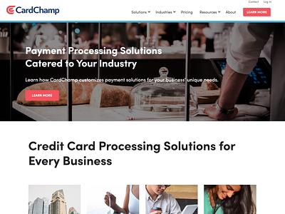 cardchamp payment app payment processors web design hubspot