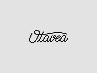 Otavea logotype lettering branding logo logotype