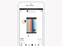 Thread Wallets Product Pages