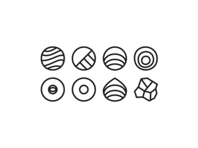 Otavea Skincare Icons brand ecommerce website branding illustration