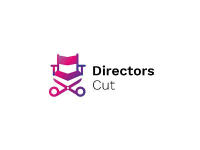 Directors Cut - Film festivals logo directors chair logo scissors logo directors logo film festival design film festival logo designer
