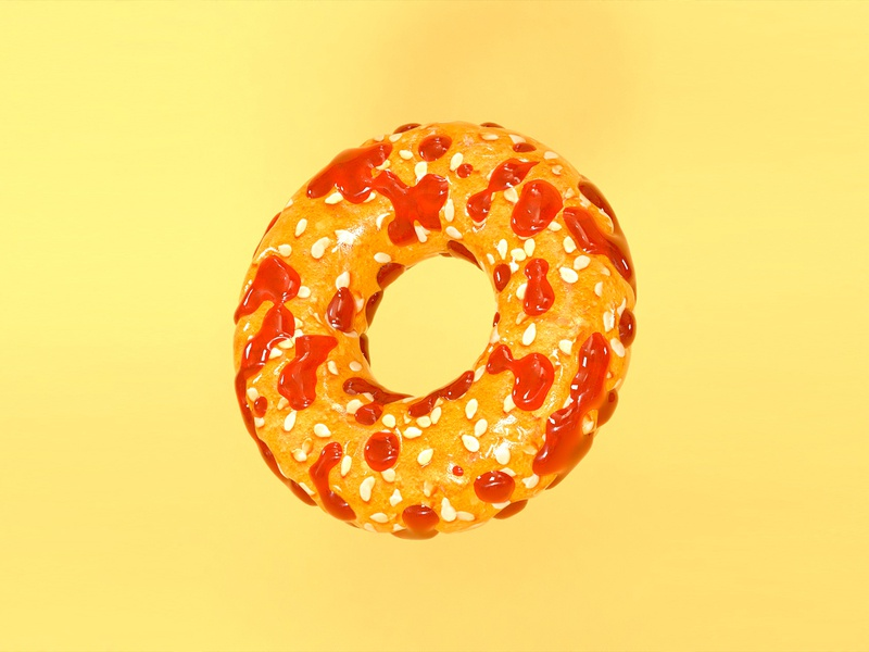 Doughnut icon design