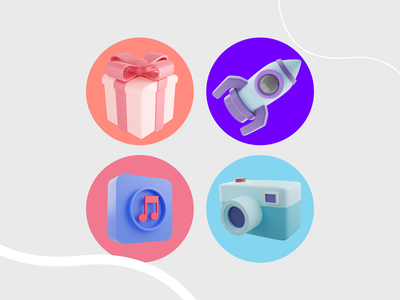 3d Icons 3dobjects icon design 3dicon 3d