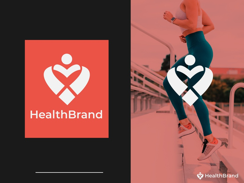 Health Brand health logo fresh design freebie fresh clinic hospital health app healthcare healthy health bank modern logo brand identity art minimal flat illustration logo design branding