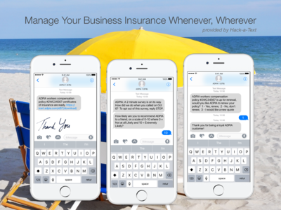 Business Insurance Mobile SMS Management