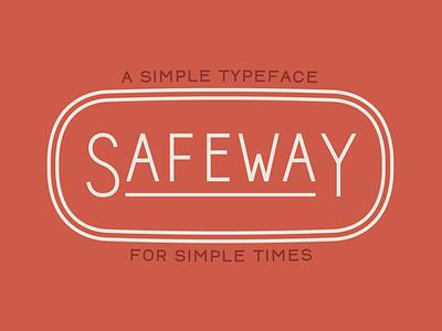 Safeway font vector type branding typography