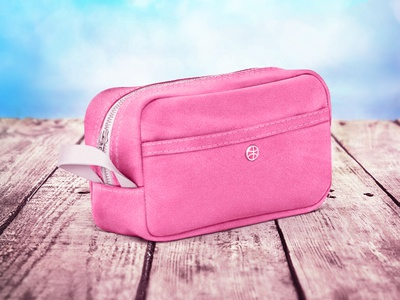 Hi Dribbble!!! Pink techdesign of bag for you)