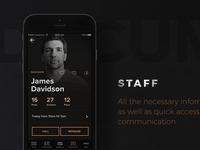 TapBar app staff
