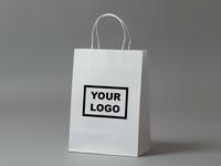 4 Paper Bag Mockup (free)