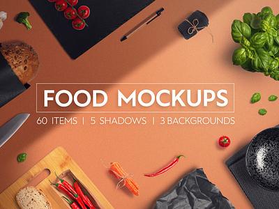 Food & Restaurant Mockup Collection logo package template mockups brand bundle mockup template mockup psd design menu restaurant branding kitchen restaurant mock-up food mockup