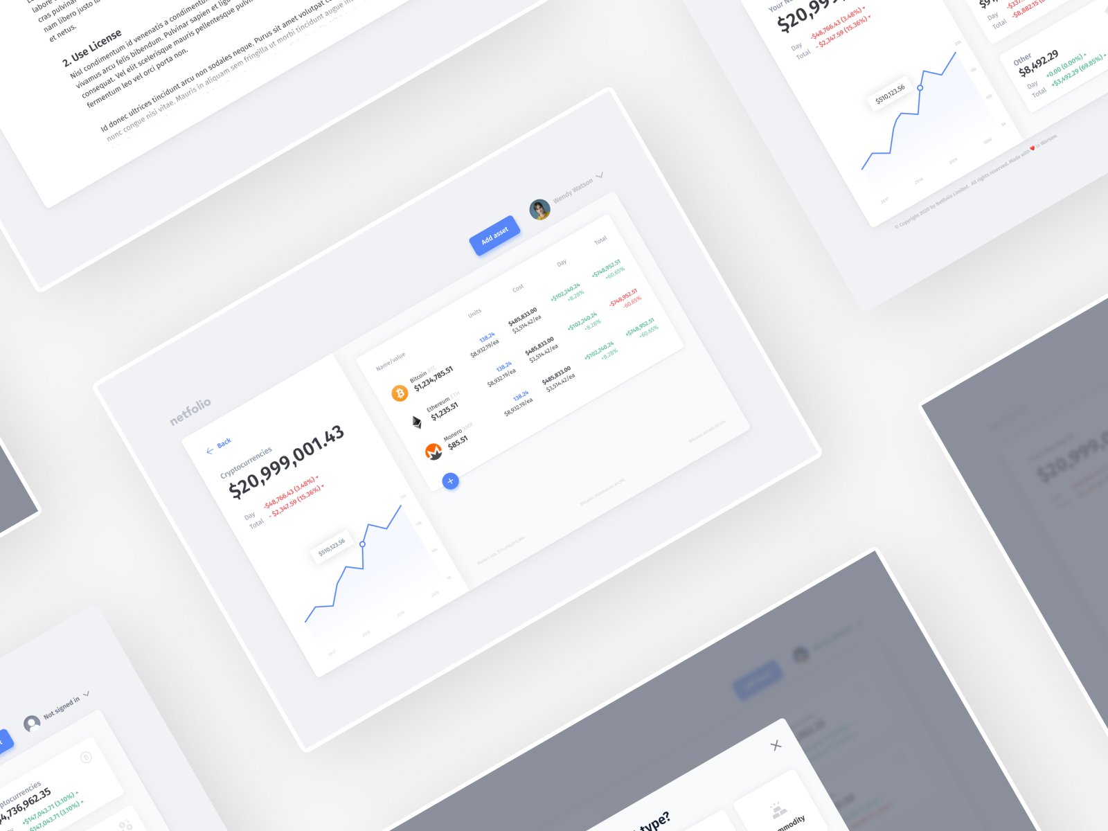 Netfolio —Multi-Asset Net Worth Portfolio