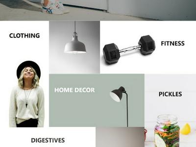 E-commerce concept concept e-commerce design ux ui