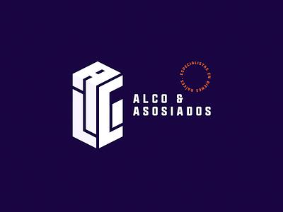 ALCO / Branding identidad de marca bold brand branding diseño de logo tipography bienes raíces dirección de arte