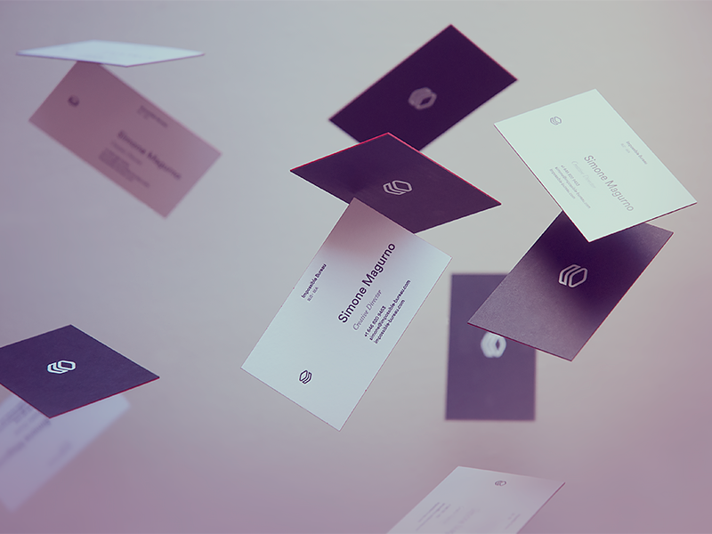 IB Brand — Business Cards by Simone Magurno - Dribbble