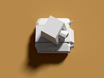 Blender Tank blender tank low-poly brown gray 3d video game