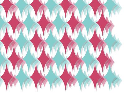 Semi-Formal Structure shadow poster retro diamond fade pattern