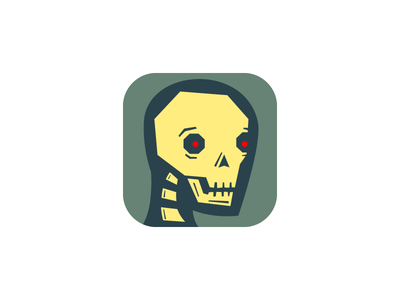 Zeh Are Coming! zombie monster icon ios scary halloween belated