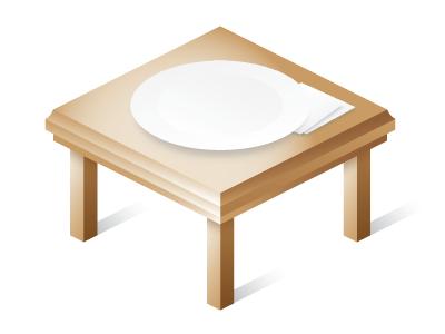 Elephant table wood elephant gradient
