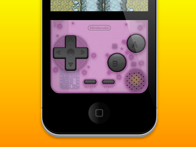 Let's Bring Back the Retro nintendo game boy game boy advance iphone gpsphone emulator atomic purple cydia game boy color