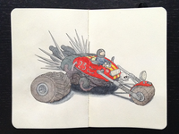 Kids car (Mad Max Edition)